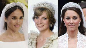 Estos son los perfumes que Diana de Gales, Kate Middleton y Meghan Markle usaron en su boda