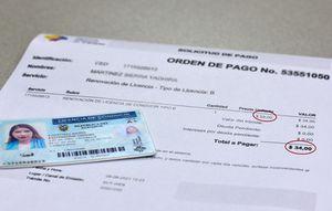Conductores que mantengan los 30 puntos se les exonerará el 50% del valor de las licencias