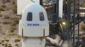 Así fue el despegue de la nave que lleva a Jeff Bezos al espacio