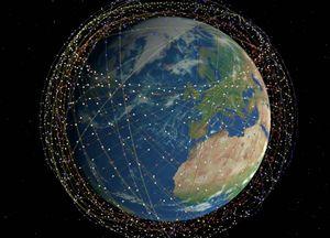 Sitio web te muestra en que lugar del mundo se encuentran los satélites Starlink