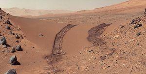 Expertos de la NASA están detrás de una sustancia en Marte que indicaría si alguna vez hubo vida en el planeta rojo