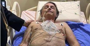 Bolsonaro posta foto em hospital: 'mais um desafio'
