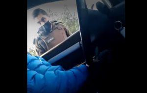 """Carabineros da de baja al """"cabo Rivas"""", policía grabado pidiendo un soborno a un conductor"""