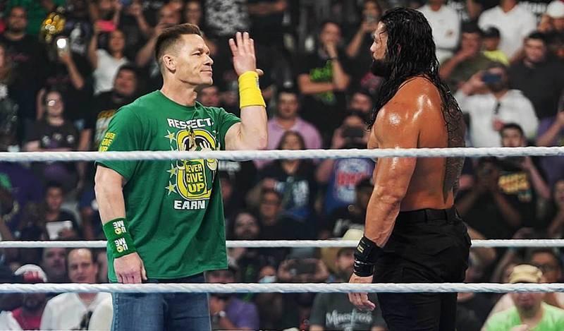 John Cena vs. Roman Reigns SummerSlam