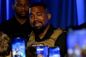 Kanye West confesó en el lanzamiento de su campaña presidencial que Kim casi aborta a su hija North