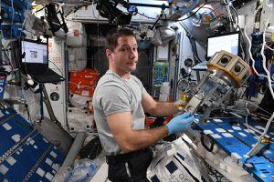 El astronauta francés Thomas Pesquet capturó desde la ISS el sorprendente resplandor de la capa de sodio de la Tierra