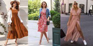 Estos son los vestidos casuales que le van perfecto a mujeres mayores de 30 años