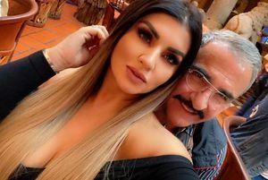 Corren rumores acerca de que Vicente Fernández Jr. estaría recluido en una clínica de rehabilitación pero su novia asegura que no es cierto mientras va de compras