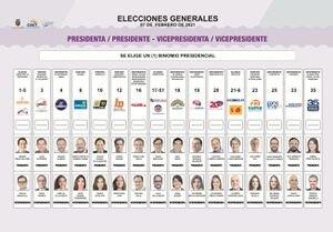 Movimiento Amigo del candidato presidencial, Pedro Freile, pide al CNE que corrija el error en la papeleta