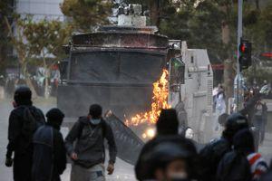 48 detenidos tras los incidentes en la Plaza Italia