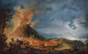 Mira el susto del público cuando recrean la erupción del Vesubio