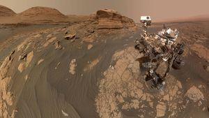 Robô da NASA tira selfie impressionante no planeta Marte e registro acaba repercutindo nas redes sociais