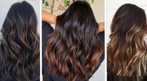 Reflejos en cabello negro que serán tendencia esta temporada para cambiar tu look