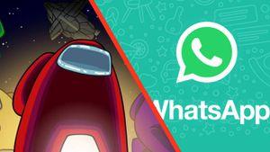 WhatsApp: aquí puedes descargar los stickers de Among Us