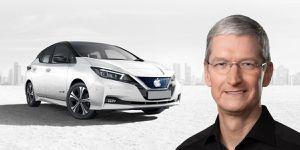 Apple Car no está muerto: Nissan se dice dispuesto a hacer trato con Tim Cook
