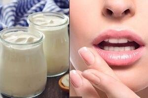 Logra unos labios gruesos sin bótox con esta mascarilla casera de yogurt