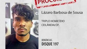 Serial killer do DF teria sido visto novamente e perfil falso revela como Lázaro acompanhava as buscas