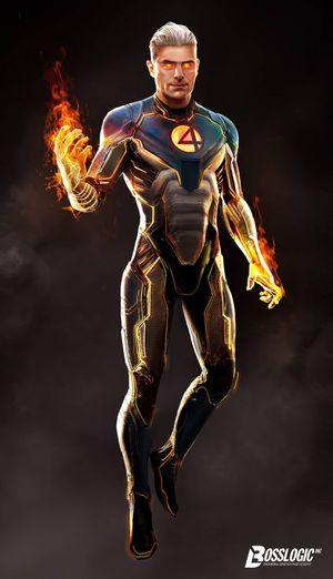 Los 4 Fantásticos: Zac Efron podría ser la Antorcha Humana, así luciría