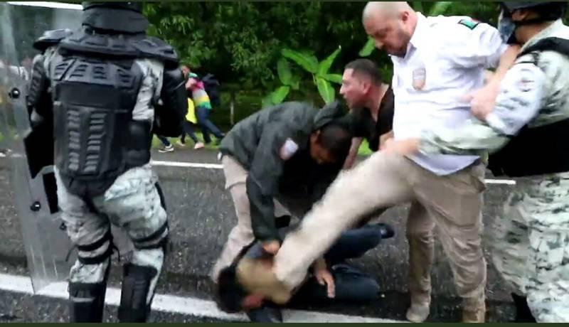 Ataques a migrantes: Gobierno condena actuación de sus agentes