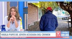 Asesinato de joven scout: agreden en vivo a padre de adolescente imputada
