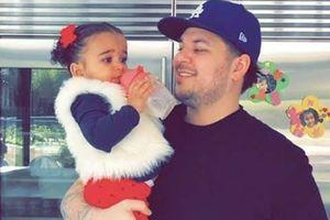 Dream es idéntica a su padre Rob Kardashian y estas fotos lo demuestran