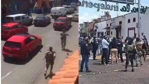 Operativo termina en balacera en Metepec y deja un muerto