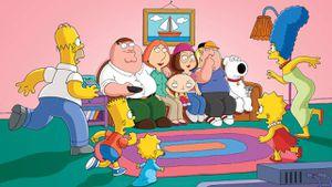 Los Simpson y Family Guy tuvieron un aterrador crossover que ya muchos olvidaron