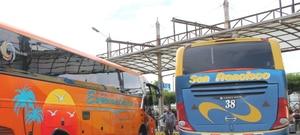 COE-N autoriza incremento al 100% en el aforo de buses interprovinciales