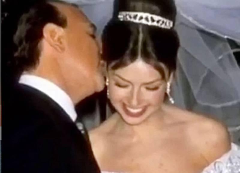 Boda de Thalía y Tommy Mottola