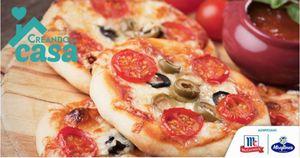 Creando en Casa: Haz esta deliciosa pizza en poco tiempo