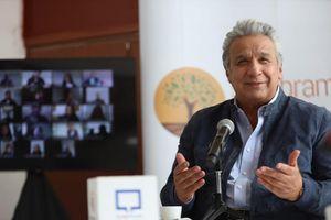 Gobierno confirma que Lenín Moreno y la Primera Dama fueron vacunados