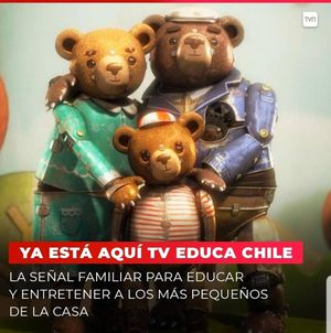 TV Educa Chile: el nuevo canal para niños en cuarentena