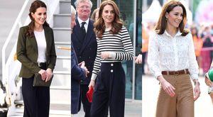 Las veces que Kate Middleton dio lecciones de cómo combinar un pantalón para verse elegante