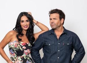¿Y si le aserrucha el piso a las Kardashian?: Pamela Díaz llega junto a Nacho Gutiérrez a E! Entertainment