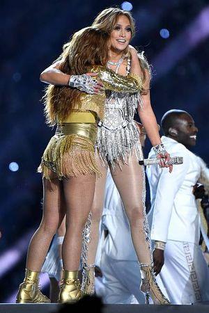 ¿Están peleadas? Jennifer Lopez ni siquiera menciona a Shakira en entrevista del Super Bowl