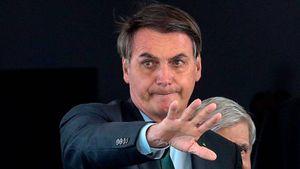"""Bolsonaro ataca a periodista que le preguntó por qué no usaba mascarilla: """"¡Cállate la boca!"""""""