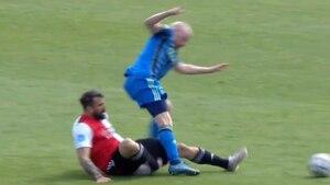 La escalofriante lesión que sufrió Lucas Pratto jugando el clásico en Países Bajos