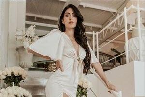 Suenan campanas de boda para la exMiss Ecuador Virginia Limongi y su novio brasileño