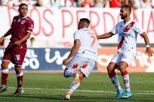 Curicó le dio una ingrata bienvenida a La Serena en su regreso a la Primera División