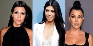 Kourtney Kardashian presume sus curvas a sus 41 años en un glamuroso bikini con glitter