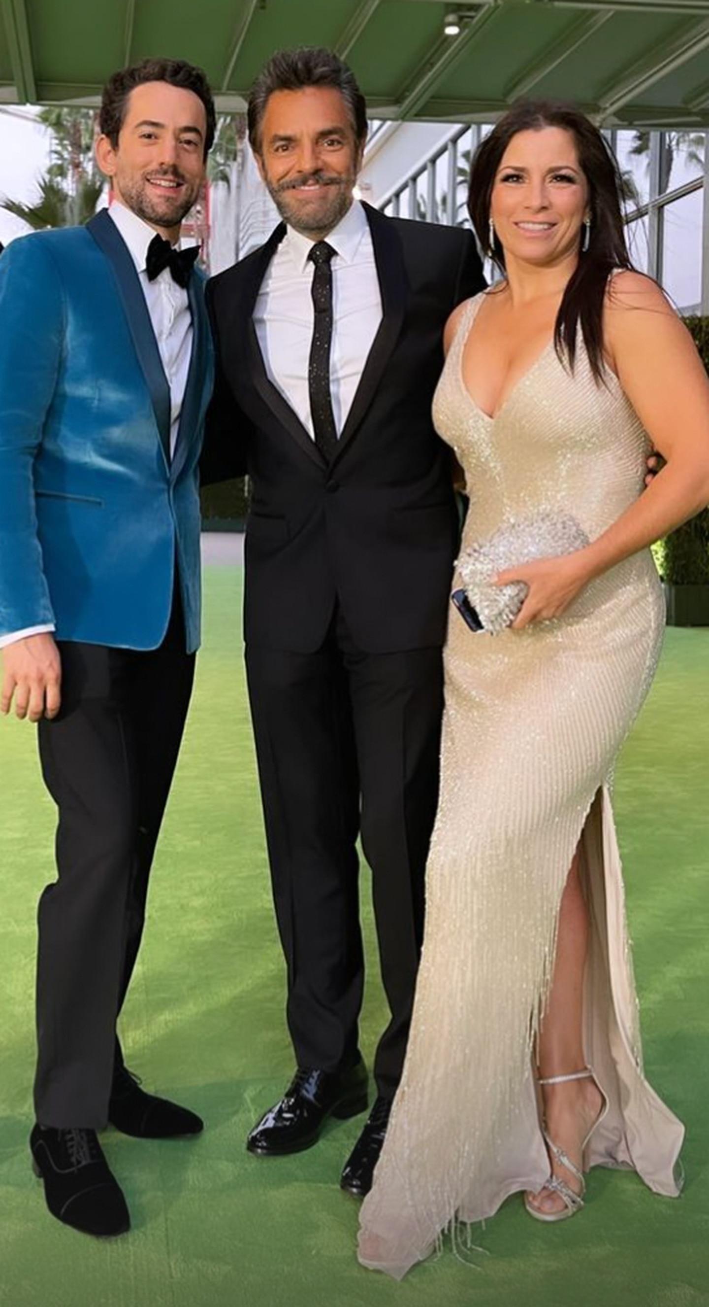 Luis Gerardo Méndez, Eugenio Derbez y Alessandra Rosaldo