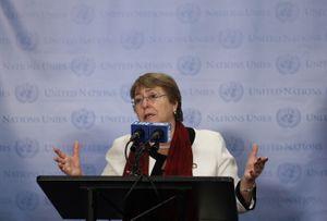 """Bachelet habla de """"crímenes de guerra"""" y llama a parar el fuego entre Israel y Palestina"""