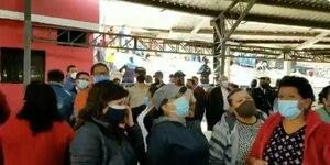 Video: Bernardo Abad denuncia incidentes entre partidarios de Yunda y concejales de Quito