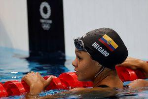Anicka Delgado logró nuevo récord nacional en la prueba 100 metros libres de Tokio