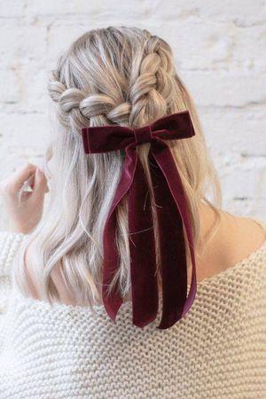 Peinados sencillos con trenzas para mujeres de cabello corto que amarás
