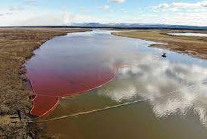 Desastre petrolero en el Circulo Polar Ártico por una compañía minera rusa