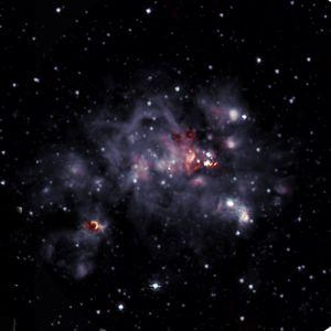 Nuevas imágenes de una nube molecular a 36 mil años luz de la Tierra revelan nueva información sobre la formación de las estrellas