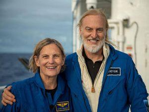 La astronauta que se convirtió en la primera mujer en pisar lo más profundo del océano