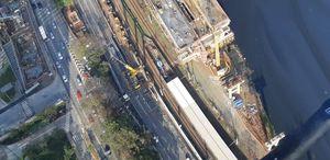 Linha 17-Ouro do Metrô: Pista expressa da Marginal Pinheiros será interditada na terça e na quinta-feira