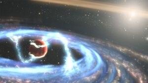Impresionantes imágenes de Hubble captan cómo un exoplaneta crece mientras acumula gas y polvo